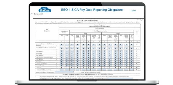 EEO-1 and CA Pay Data Reports