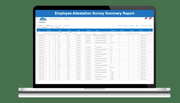 Employee-Attestation-Survey-Summary-Report