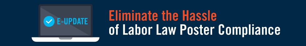 Labor Law Poster e-Update subscription